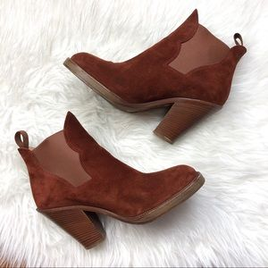 Acne Studios | Star Boots Rust/Brown Suede 39